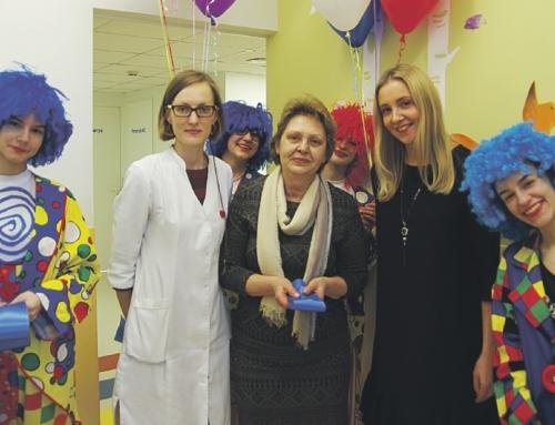 Atidarytas atnaujintas Druskininkų ligoninės Vaikų ligų skyrius