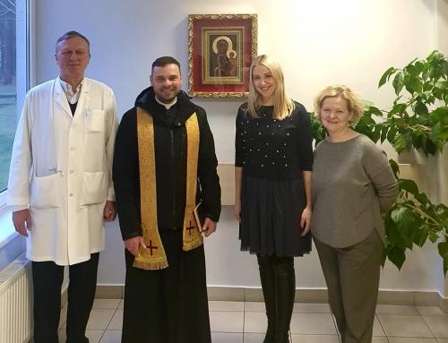 Nuoširdžiai džiaugiamės ir dėkojame kunigui Vaidui Vaišvilai