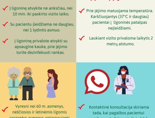 Druskininkų ligoninė atnaujina planinių ambulatorinių asmens sveikatos priežiūros paslaugų teikimą