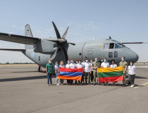 """Humanitarinėje misijoje Armėnijoje su COVID-19 kovojęs Druskininkų ligoninės Priėmimo ir skubios pagalbos skyriaus vedėjas R. Botovas: """"Parsivežiau neįkainojamos patirties"""""""
